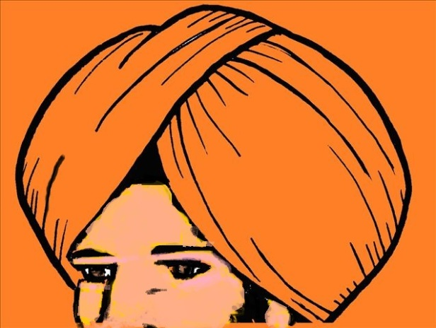 Turban Orange