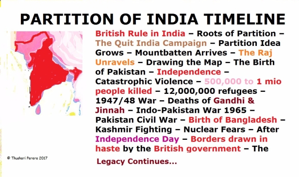 Pink India Map BBC Timeline
