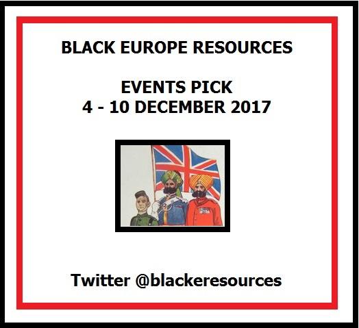 Events 4-10 November 2017