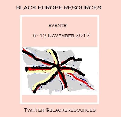 Events 6-12 November 2017
