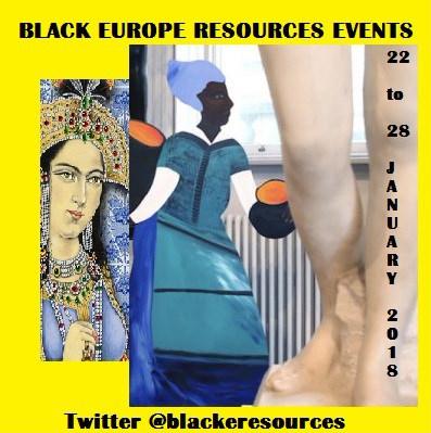 Events 22-28 January 2018