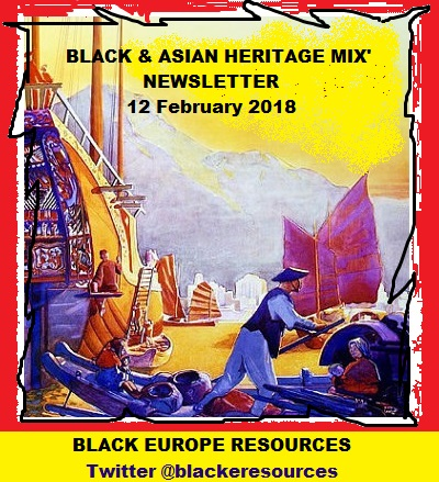 Black and Asian Heritage Mix 12 February 2018