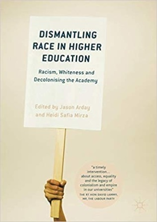 Dismantling race in Higher Education Book