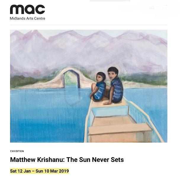 Matthew Krishanu The Sun Never Sets