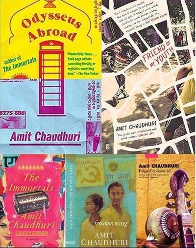 Amit Chaudhuri Books
