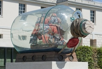 Nelson Ship in Bottle
