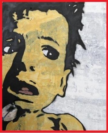Yemen Child Mural