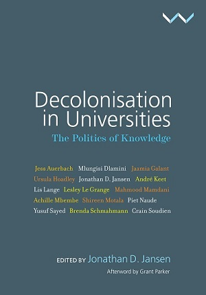Decolonisation in Universities Book