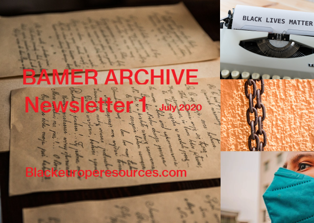 BAMER ARCHIVE NEWSLETTER 01