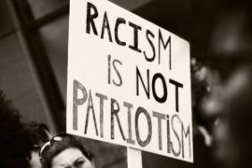 racism is not patriotism sign-3422241_640