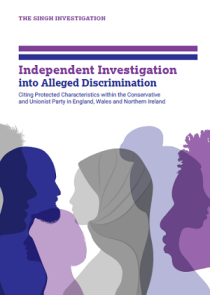 Conservative Party Islamophobia Singh Report