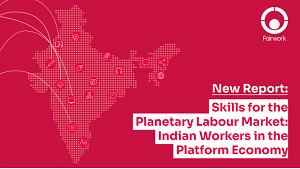 Fairwork Indian Workers in the Platform Economy