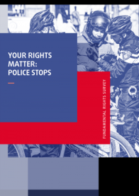 FRA Your Rights Matter Police Stops