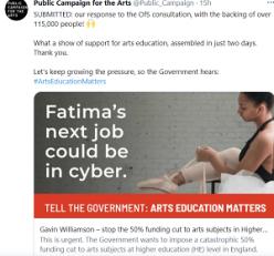 Public Campaign for Arts