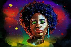 african woman art -4612568_640