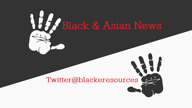 Black and Asian News BW