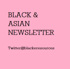 Black and Asian Newsletter Image