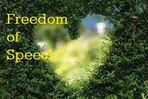 garden heart-freedom of speech