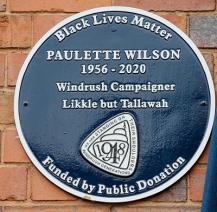 Paulette Wilson Blue Plaque