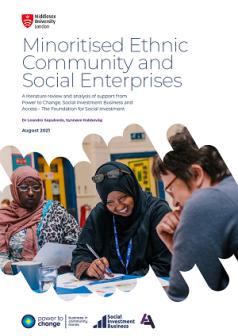 Minoritised Ethnic Community and Social Enterprises