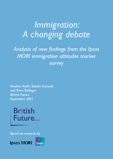 Immigration a Changing Debate Report